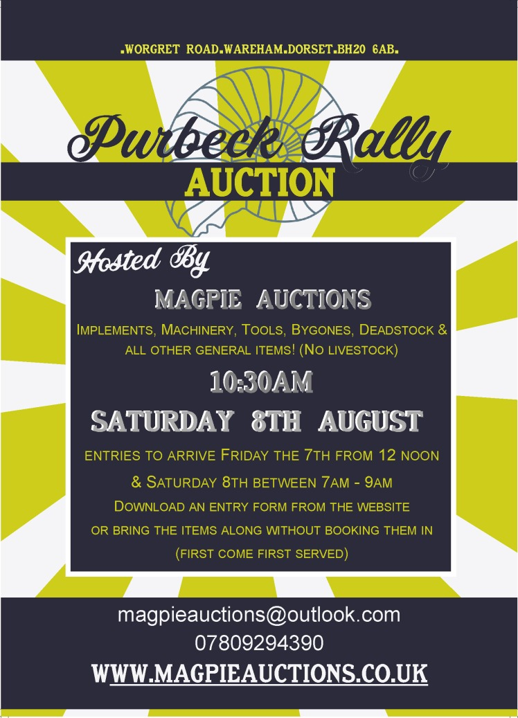auction poster 2020